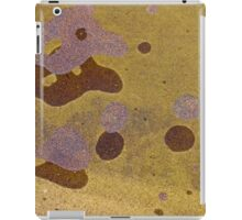 Sand spots on water iPad Case/Skin