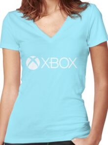 Xbox Women's Fitted V-Neck T-Shirt