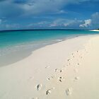 Footprints, Anguilla by JCMM