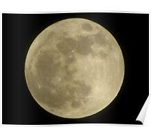 Super Moon 2012 Poster
