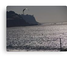 Silver Surfer Canvas Print
