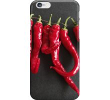 Dried chillies iPhone Case/Skin