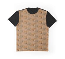 Chinese Temple Roof Abstract Graphic T-Shirt