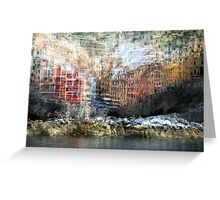 All About Italy. Piece 17 - Riomaggiore Essence Greeting Card