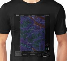 USGS TOPO Map Alaska AK Sitka D-6 359168 2000 63360 Inverted Unisex T-Shirt