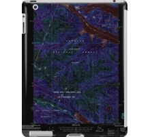 USGS TOPO Map Alaska AK Sitka D-6 359168 2000 63360 Inverted iPad Case/Skin