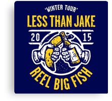 LTJ X RBF : SUMMER TOUR 2015 logo Canvas Print