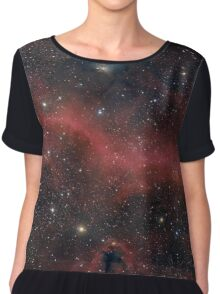 Pink Galaxy Chiffon Top