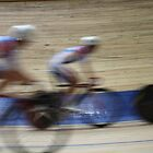 Bicycle Race Velodrome by mrivserg