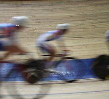 Bicycle Race Velodrome by mrivserg