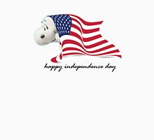 Snoopy Happy Independence Day Unisex T-Shirt