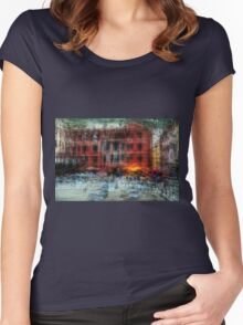 All About Italy. Piece 18 - Vernazza Spirit Women's Fitted Scoop T-Shirt