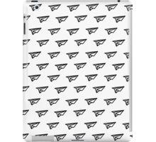 Black planes iPad Case/Skin