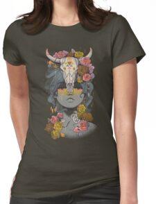 Desert Rose Womens Fitted T-Shirt