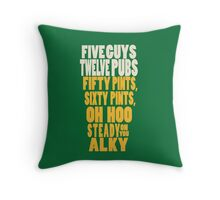 The Worlds End  Throw Pillow