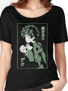 Midoriya Izuku Flat Color Women's Relaxed Fit T-Shirt