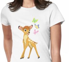 Disney Bambi Womens Fitted T-Shirt