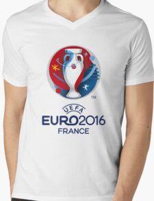 UEFA EURO 2016 Shirts - France Mens V-Neck T-Shirt
