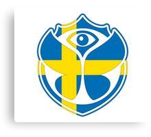 Tomorrowland Sweden logo - Swedish - Sverige - svenska Canvas Print