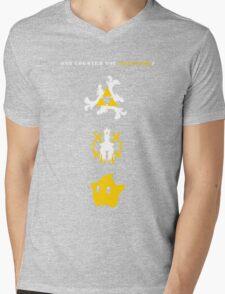 Nintendo Universe Mens V-Neck T-Shirt