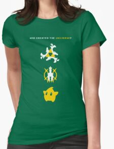 Nintendo Universe Womens Fitted T-Shirt