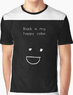 I love BLACK <3 Graphic T-Shirt