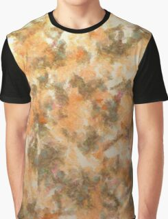 Water Oil Paint Graphic T-Shirt