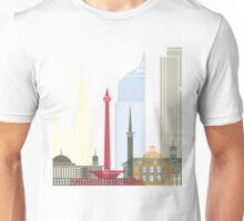Jakarta skyline poster Unisex T-Shirt