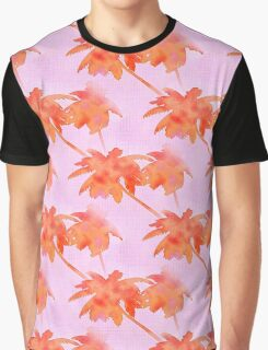 Coconut Palm Trees Island Hot Afternoon Graphic T-Shirt