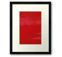 Raspberry Ripple Framed Print
