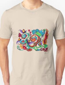 Snazzy Snail Rollercoaster Unisex T-Shirt