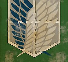 Survey Corps Poster by Johnn195