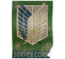 Survey Corps Poster Poster