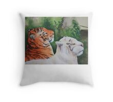 Regal Pair Throw Pillow