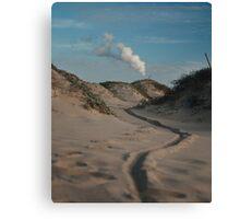 Sand dune, Beach, Landscape, Photography, Nature, Canvas Print