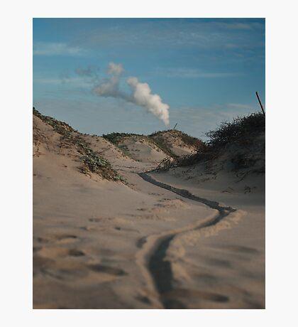 Sand dune, Beach, Landscape, Photography, Nature, Photographic Print