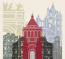 Palermo skyline poster by paulrommer