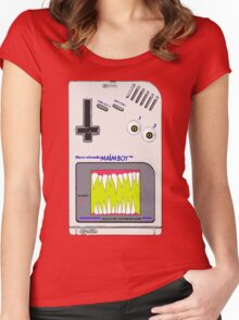 EVIL GameBoy Women's Fitted Scoop T-Shirt