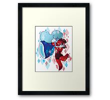 Made of Love Framed Print
