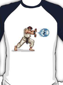 Hadouken! 8-bit Ryu. T-Shirt