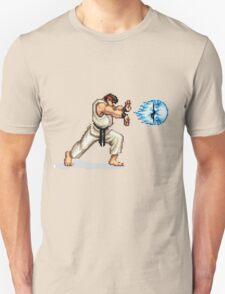 Hadouken! 8-bit Ryu. Unisex T-Shirt