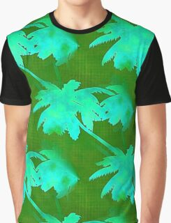 Coconut Palm Trees Tropical Jungle Graphic T-Shirt