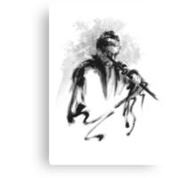Samurai Bushido Code Japanese Warrior Canvas Print