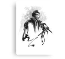 Samurai Bushido Code Japanese Warrior Canvas Print