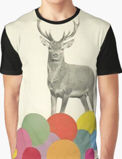 A Stag in Heaven Graphic T-Shirt