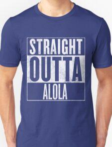 Straight Outta Alola Unisex T-Shirt