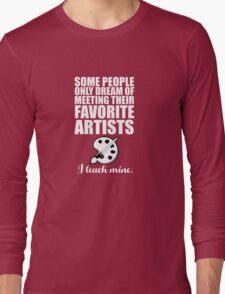 Favorite Artists Long Sleeve T-Shirt