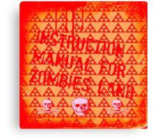 zombies land Canvas Print