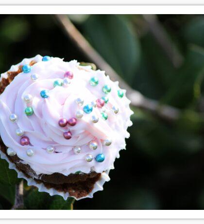 Surreal Cupcake Tree Sticker