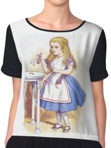Alice and the Drink Chiffon Top